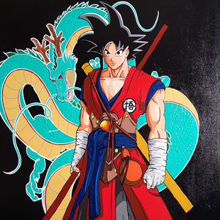 Peinture - Dragon Ball Z