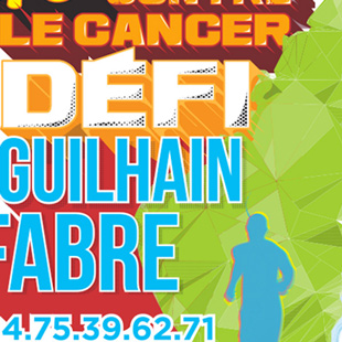 Print Course contre le cancer pour Guilhain Fabre