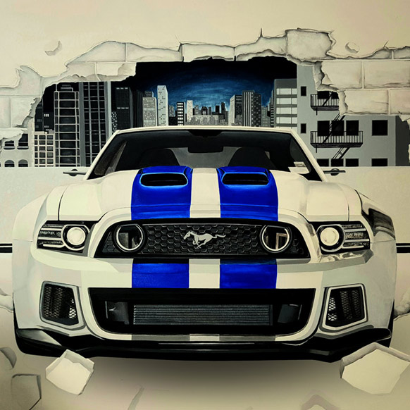 Projets similaires - Décoration intérieure - Ford Mustang